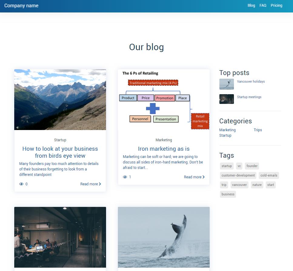 Blog (list)